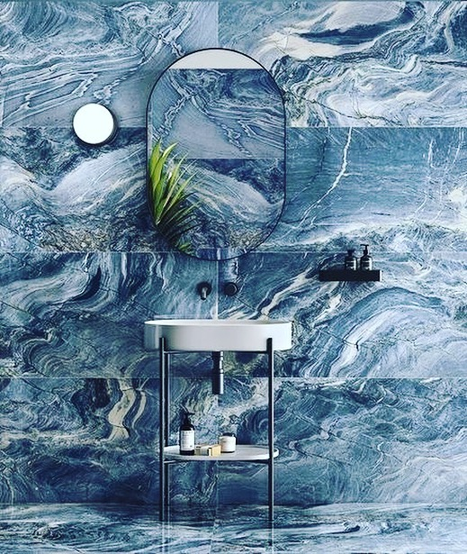 One word…. Wow !  Our new Chalcedony explosion blue arriving late 2021  #brisbanedesign  #luxuryhomes  #brisbane  #brisbanehomes
